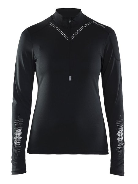 Craft Brilliant 2.0 Halfzip - Women's Color: Black