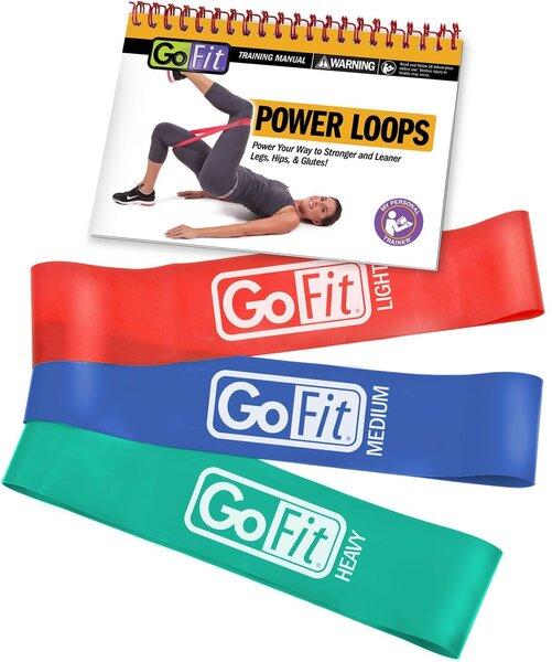 """GoFit Power Loops 2"""" - 3 Pack"""