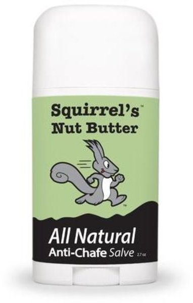 Squirrel's Nut Butter All Natural Anti-Chafe Salve Stick - 2.7 oz