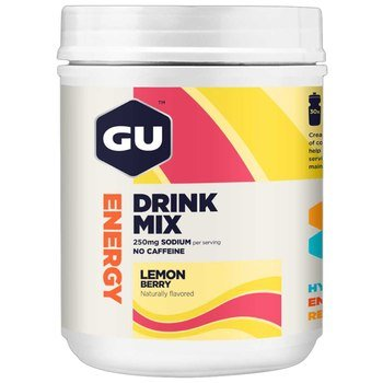 GU Energy Drink Mix - Lemon Berry (840g) - 30 Servings