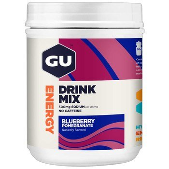 GU Energy Drink Mix - Blueberry Pomegranate (840g) - 30 Servings
