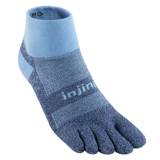 Injinji Trail Midweight Mini-Crew Color: Powder Blue