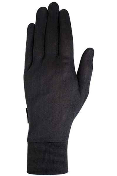 Auclair Silk Liner Glove - Men's Color: Black