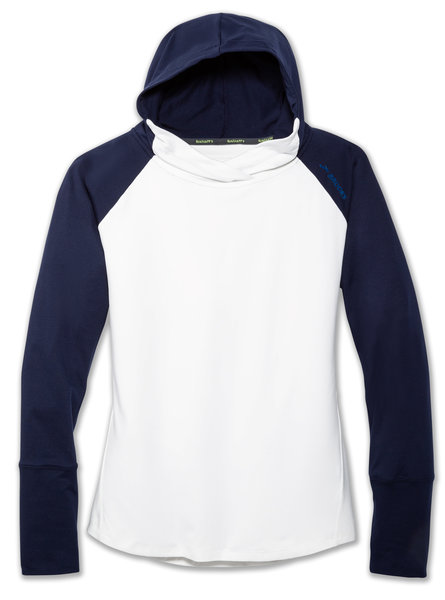 Brooks Dash Hoodie - Women's Color: White/Navy