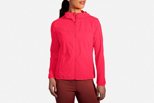 Brooks Canopy Jacket - Women's Color: Flouro PInk