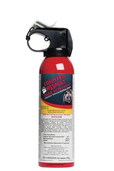 Counter Assault Bear Spray - 230g / 8.1 oz Bear Deterrent