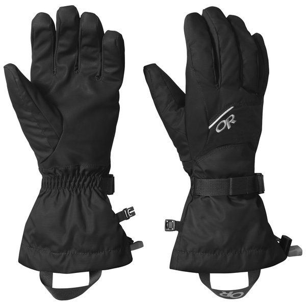 Outdoor Research Adrenaline Gloves Color: Black