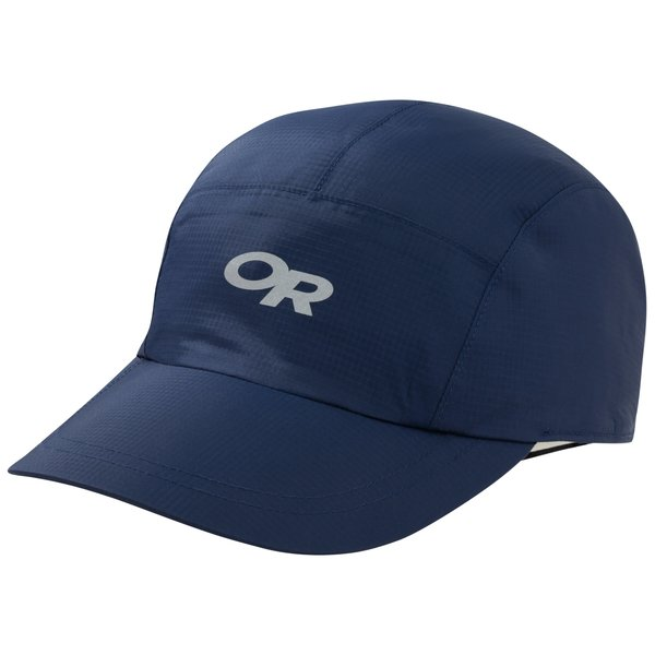 Outdoor Research Halo Rain Cap Color: Indigo/Khaki