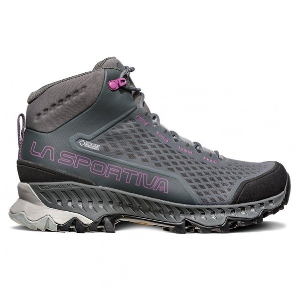 La Sportiva Stream GTX - Women's Color: Carbon/Purple