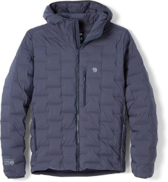 Mountain Hardwear Super DS/Stretchdown Hooded Jacket - Men's