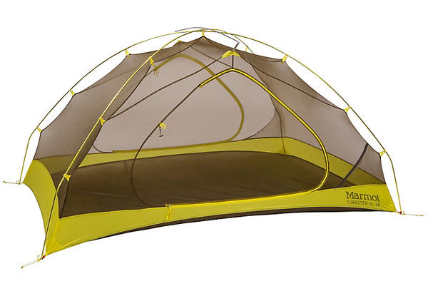 Marmot Tungsten UL 2P Color: Dark Citron/Citronelle