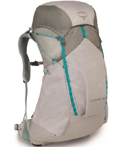 Osprey Lumina 45 Pack - Women's Color: Cyan Silver