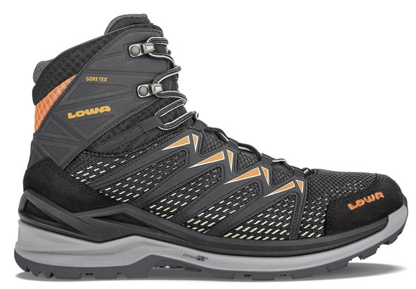 Lowa Innox Pro GTX Mid - Men's Color: Black/Orange