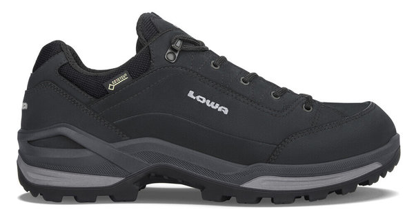 Lowa Renegade GTX LO - Men's Color: Black/Graphite