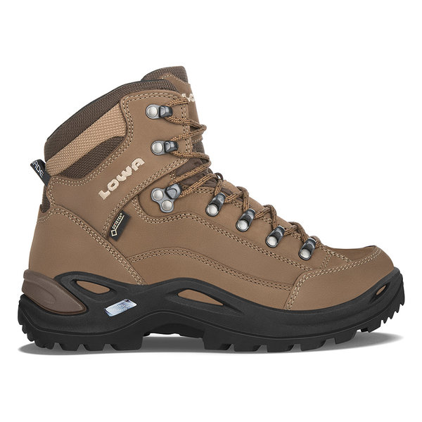 Lowa Renegade GTX Mid (Available in Wide Width) - Women's Color: Taupe