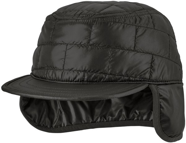 Patagonia Nano Puff Earflap Cap Color: Black