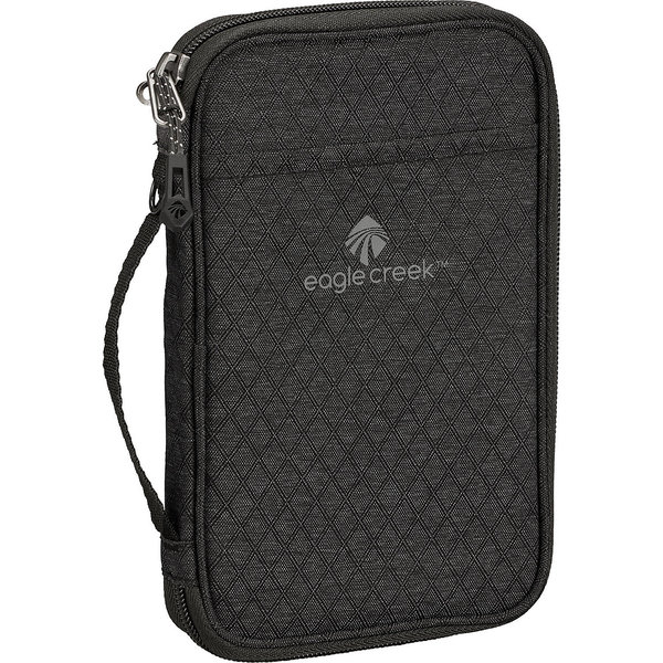 Eagle Creek RFID Travel Zip Organizer Color: Black/Charcoal