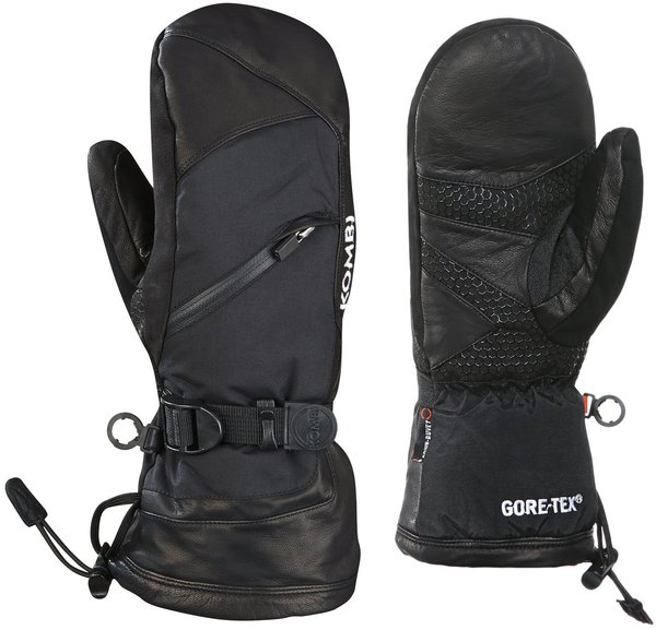 Kombi Patroller GORE-TEX Mittens - Women's Color: Black