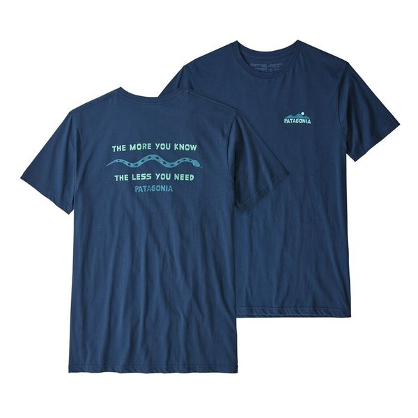 Patagonia The Less You Need Organic Cotton T-Shirt - Men's