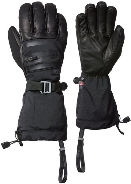 Kombi Panorama THERMOPLUME Gloves Color: Black