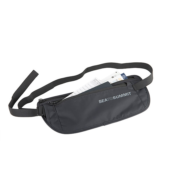 Sea to Summit Travelling Light Money Belt Color: Black