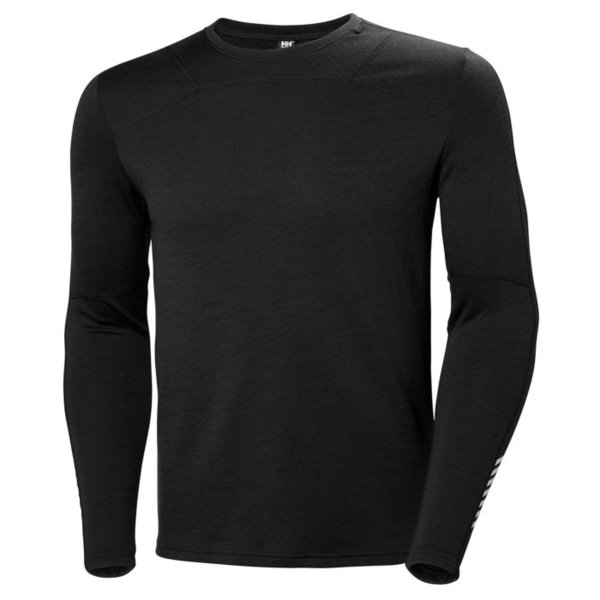 Helly Hansen Lifa Merino Crew Color: Black