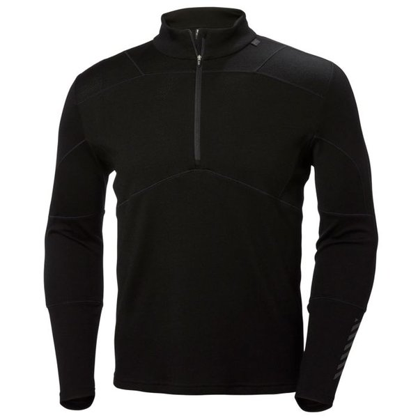 Helly Hansen Lifa Merino 1/2 Zip Color: Black