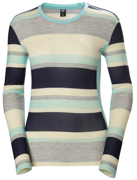 Helly Hansen Merino Mid Graphic LS - Women's