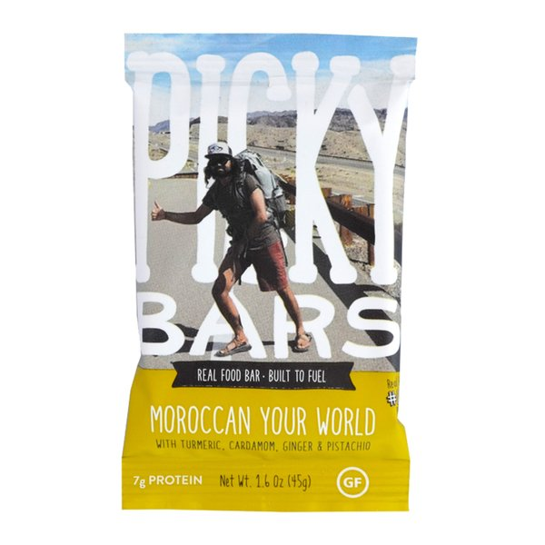 Picky Bars Morroccan Your World 45g