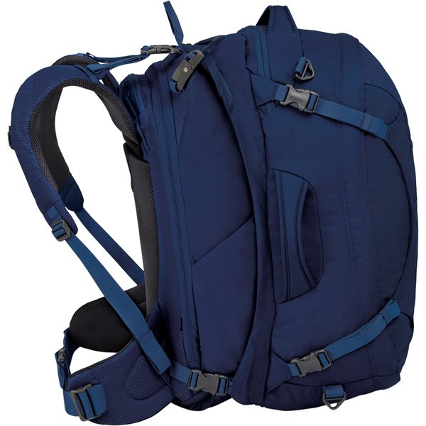 Osprey Ozone Duplex 60 Travel Pack - Women's Color: Buoyant Blue