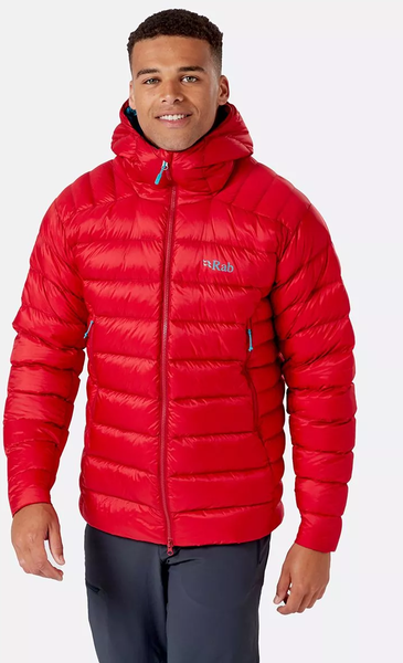 Rab Electron Pro Jacket - Men's Color: Ascent Red