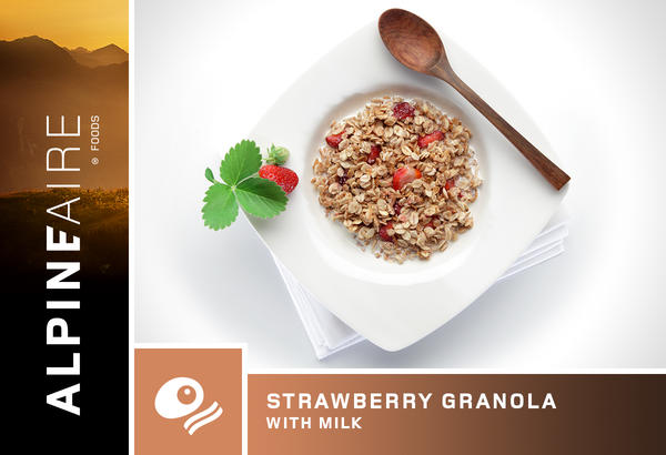 AlpineAire Strawberry Granola with Milk