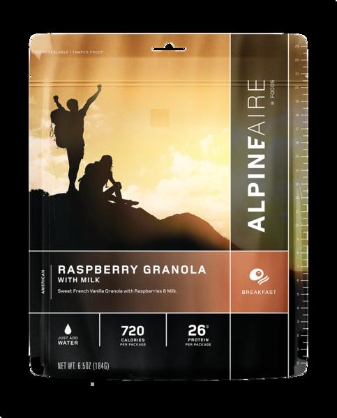 AlpineAire Raspberry Granola with Milk