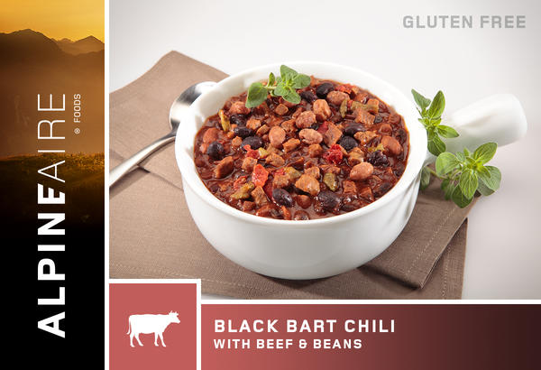 AlpineAire Black Bart Chili with Beef & Beans (Gluten Free)
