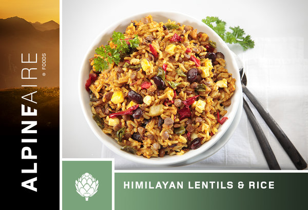 AlpineAire Himalayan Lentils and Rice
