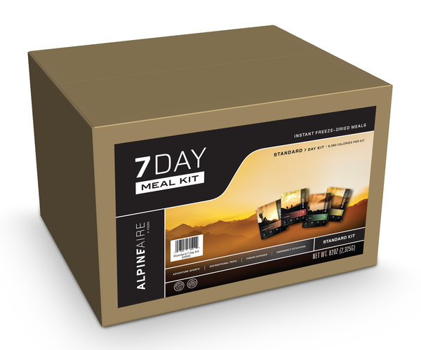 AlpineAire 7 Day Meal Kit - Standard