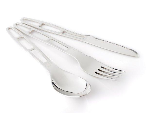 GSI Glacier Stainless steel 3 Piece Cutlery Set