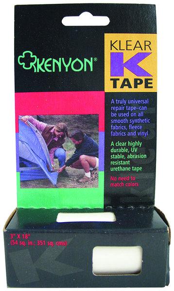 Chinook Kenyon Klear K-Tape Repair Tape