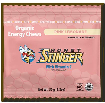 Honey Stinger Organic Energy Chew - Pink Lemonade (50g)