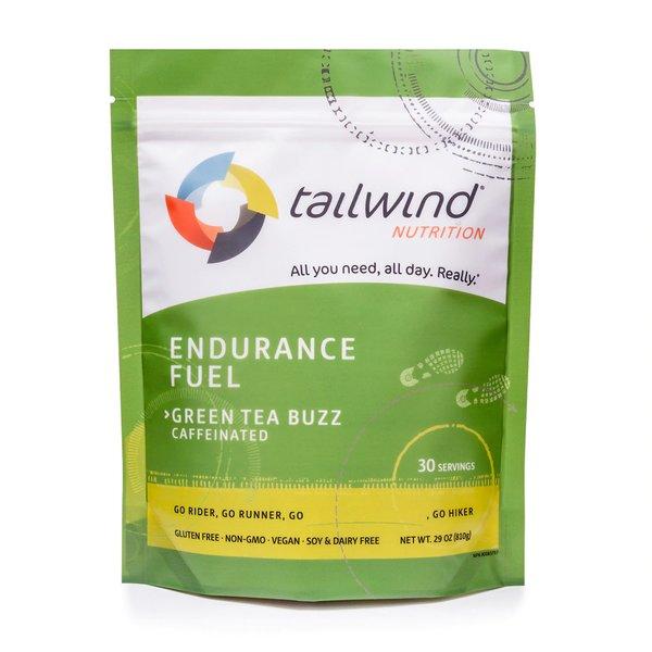 Tailwind Caffeinated Endurance Fuel - Green Tea Buzz - 30 Servings (810g)