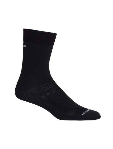 Icebreaker Hike Liner Crew - Women's Color: Black