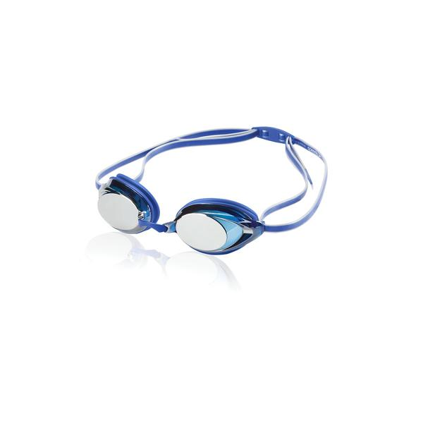 Speedo Vanquisher 2.0 Mirrored Goggle Color: Blue