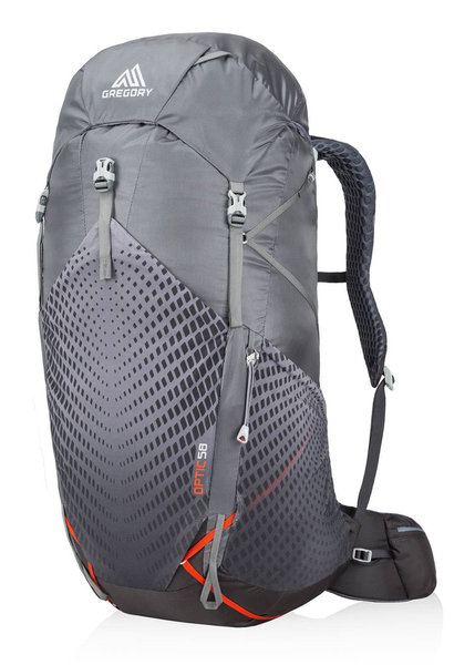 Gregory Optic 58 Pack - Men's Color: Lava Grey