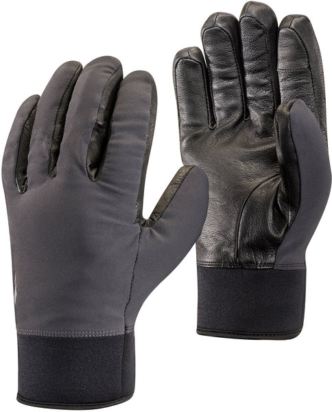 Black Diamond Heavyweight Softshell Gloves Color: Smoke
