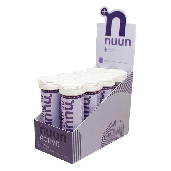 nuun Active Hydration - Grape (10 tablets per tube) - Box of 8 Tubes