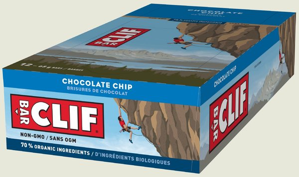 Clif CLIF BAR - Chocolate Chip (68g) - Box of 12