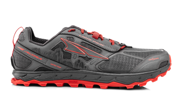 Altra Lone Peak 4 - Men's Color: Gray/Orange