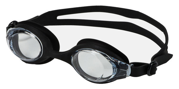 Leader Tradewind Swim Goggles Color: Clear/Black