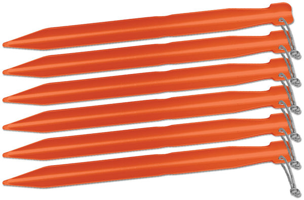 "Big Agnes Inc. 7"" Tent Stakes: Pack of 6"