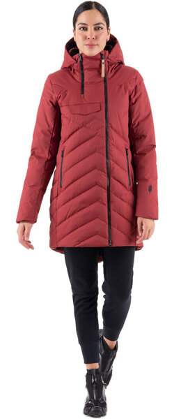 Indygena Ayaba Parka - Women's Color: Chili